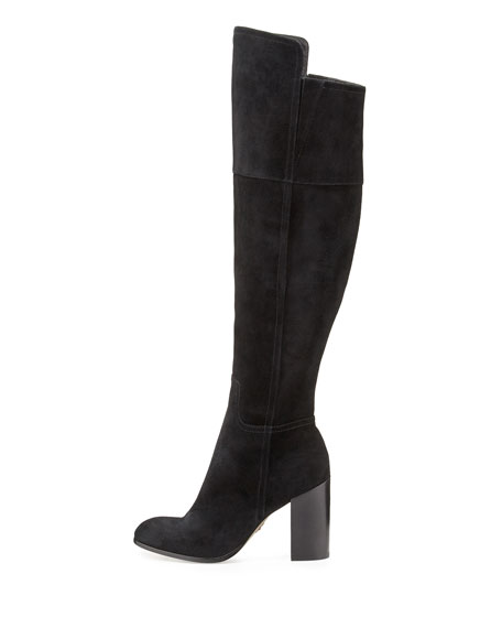 Talia Suede Over-the-Knee Boot