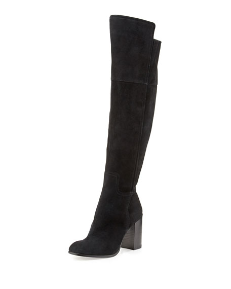 45bcbd1c2af Pour la Victoire Talia Suede Over-the-Knee Boot