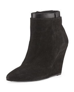 Vince Ludlow Pointed-Toe Wedge Boot