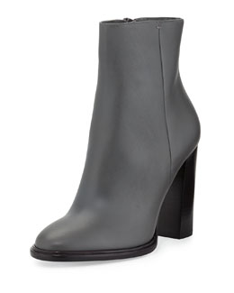 Vince Overton Leather Bootie, Graphite
