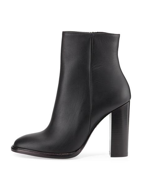 Overton Leather Bootie, Black