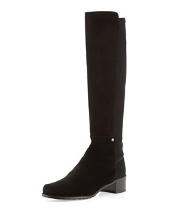 Coast Mezzamezza Pindot Knee Boot, Nice Blue