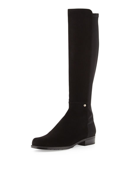 Coast Mezzamezza Suede Knee Boot, Black