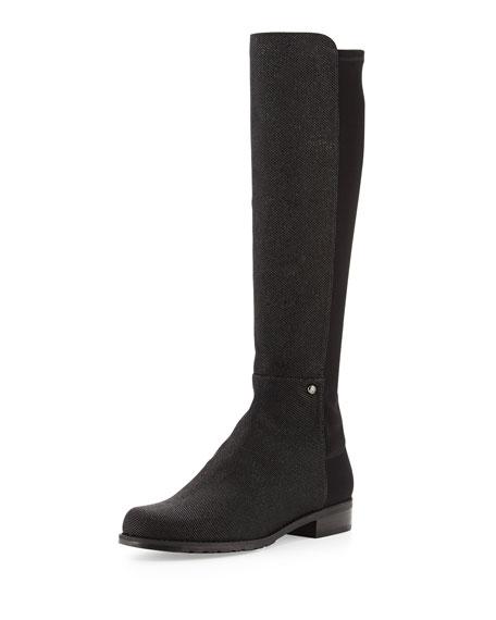 Coast Mezzamezza Pindot Knee Boot, Black