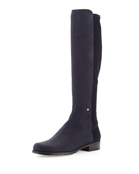 Coast Mezzamezza Pindot Knee Boot, Nice Blue