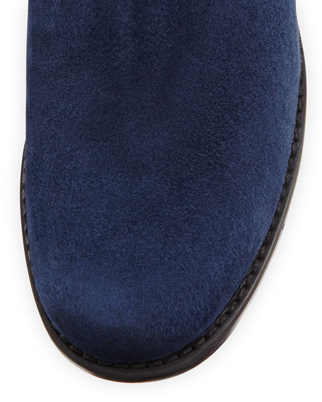 Coast Mezzamezza Suede Knee Boot, Nice Blue