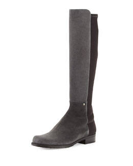 Coast Mezzamezza Suede Knee Boot, Smoke