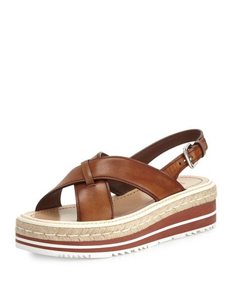 Prada Criss cross sandals 4l6dhVRRI