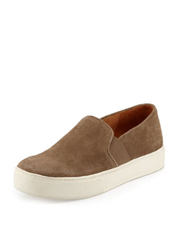 Vince Blair 3 Suede Slip-On Sneaker, Flint