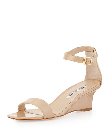 clearance factory outlet Manolo Blahnik Low-Heel Wedge Sandals cheap sale footlocker finishline low shipping fee for sale discount brand new unisex UcjyBX0