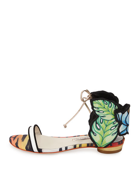 Rousseau Jungle Flat Sandal