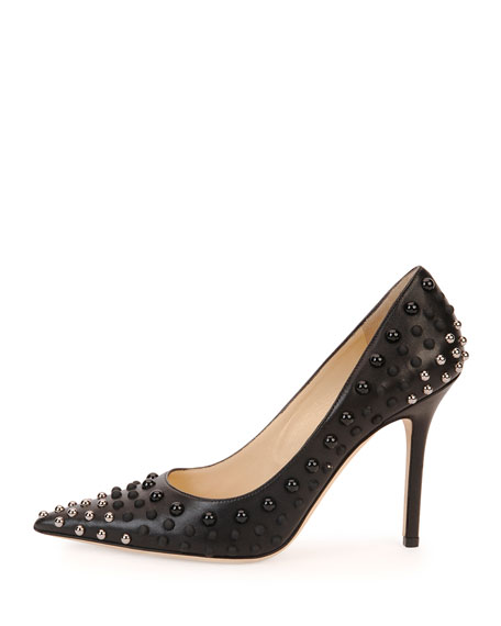 09d5e645f65d Jimmy Choo Abel Studded Point-Toe Pump