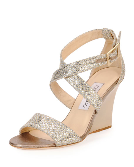 Champagne Or Silver Jimmy Choo Shoes Wedding
