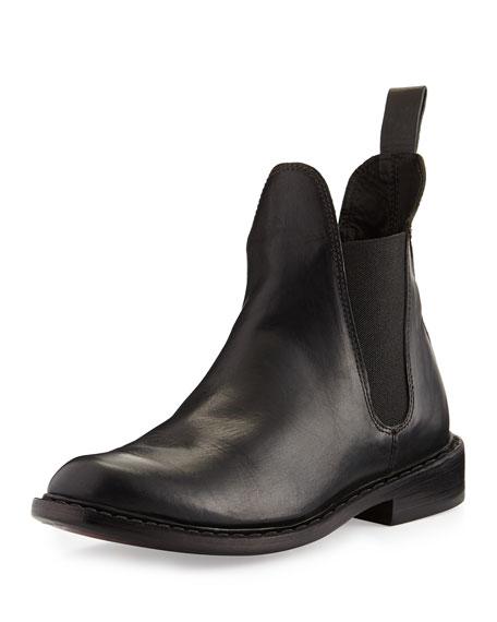 Dartford Leather Chelsea Boot, Black