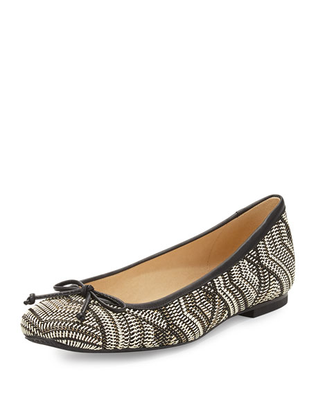 countdown package cheap online wholesale online Stuart Weitzman Woven Square-Toe Loafers 2WOqn