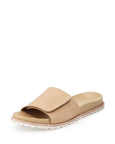 Spencer Slip-On Sandal, Nude