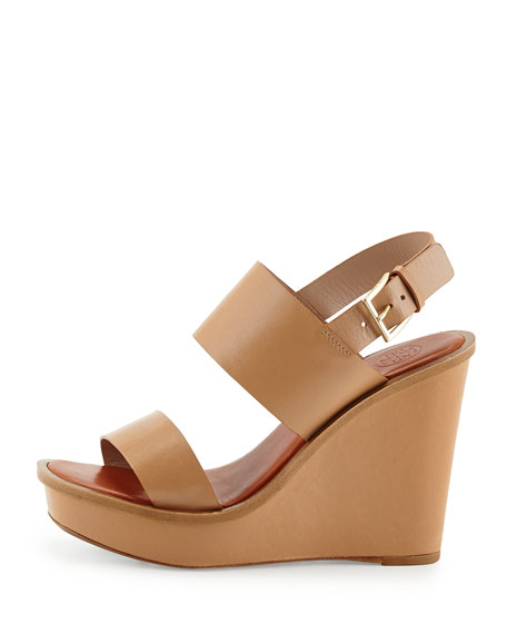a6e7ecca7b1e2 Tory Burch Lexington Leather Wedge Sandal