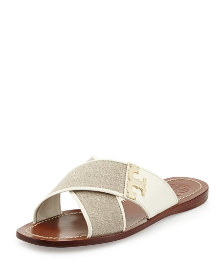 buy cheap newest Tory Burch Canvas Thong Sandals clearance eastbay free shipping big sale clearance 100% original 5XrTUxJ