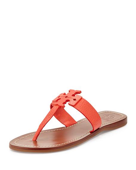 262b20547f2dc Tory Burch Moore Leather Thong Sandal
