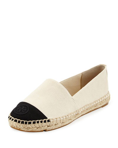Canvas Colorblock Espadrille Flat