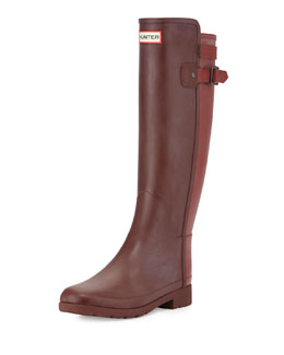 Original Refined Back Strap Welly Boot