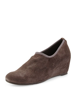 Covering Slip-On Shoe-Bootie,  Praline