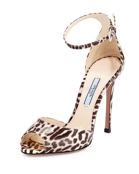 Sandal Patent Patent Sandal Leopard Leather Leopard Beigetalco Leather Beigetalco 7gb6IYfvym