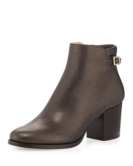 Jimmy Choo Metallic Leather Ankle Boots buy cheap low shipping outlet supply low cost cheap price comfortable for sale cheap best moejuFiAE