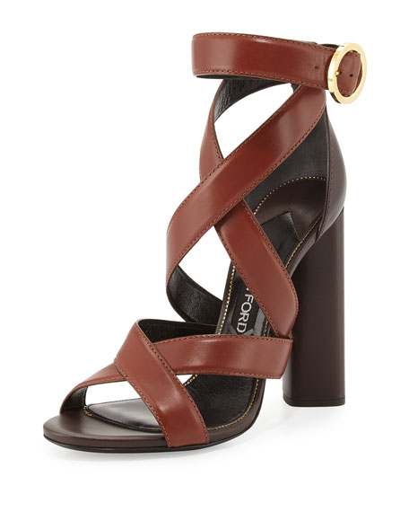 Leather Sandals - BrownTom Ford n5nFbQGPxJ