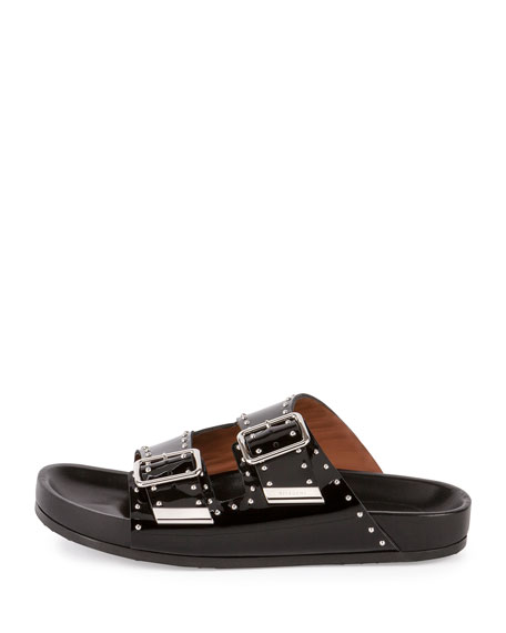 Givenchy Studded Leather Sandals JooiRT