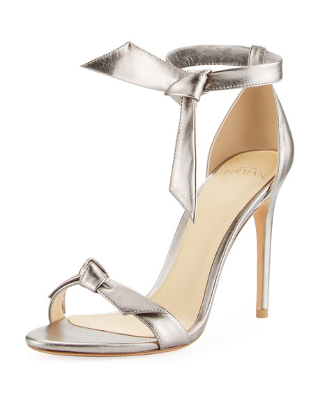 ALEXANDRE BIRMAN Clarita metallic sandals Best Place To Buy Online Discount Pre Order 2018 New Discount Cheap Online urpBdSA