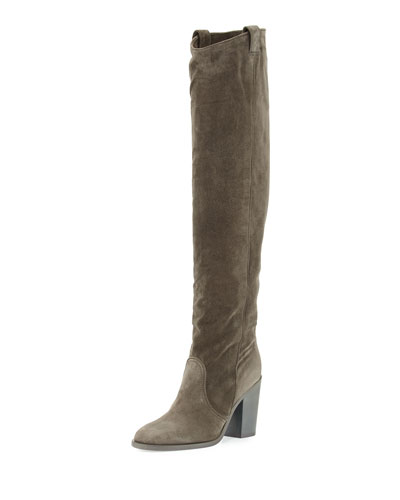 Silas Nubuck Over-the-Knee Boot
