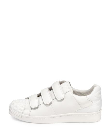 Club 3 Grip-Strap Sneaker, White
