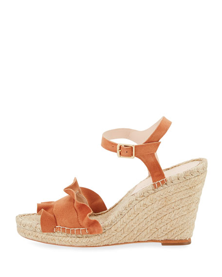 Loeffler Randall Suede Espadrille Sandals discount great deals sale with credit card YNuBgf3