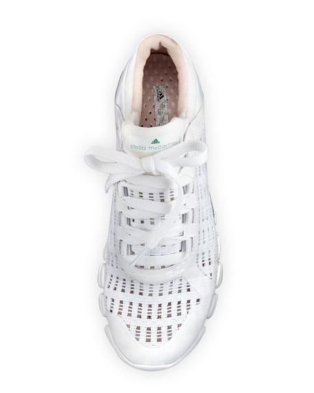 94ec30a53cb1 adidas by Stella McCartney Clima Cool Knit Running Sneaker, White ...