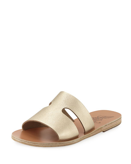 Ancient Greek Sandals Women's Apteros Slide Sandal TE5sh1xVD