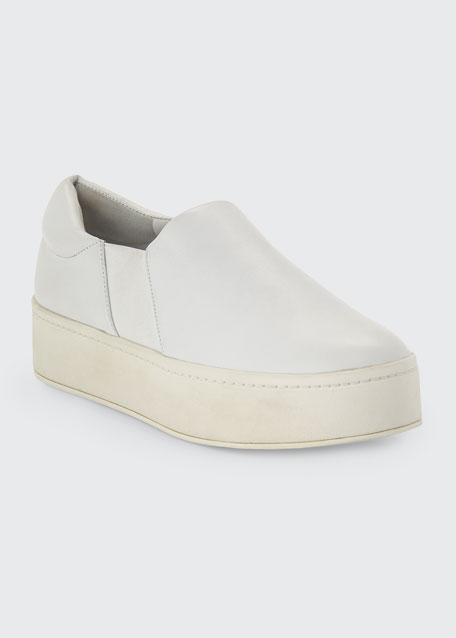 Warren Leather Platform Skate Sneaker