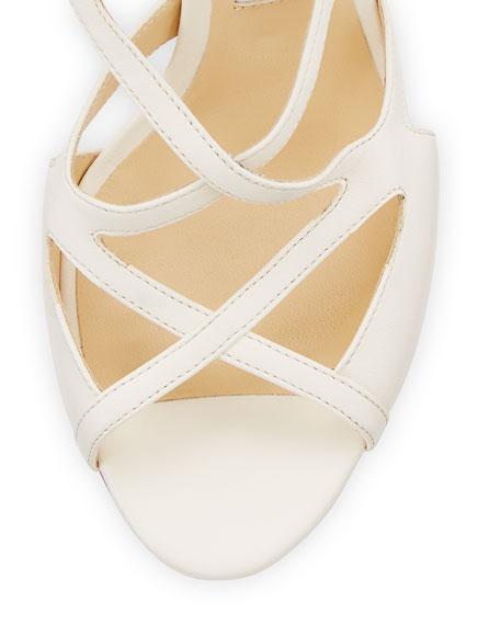 Dillan Leather Block-Heel Sandal