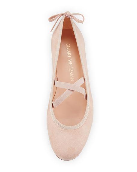 Bolshoi Suede Ballerina Flat