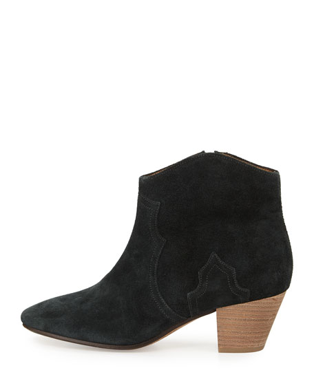 DICKER - FLAT ANKLE BOOT