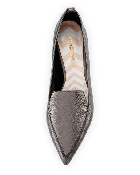 Beya Metallic Leather Loafer