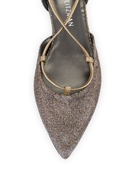 Gilligan Lace-Up d'Orsay Flat, Pyrite Nocturne