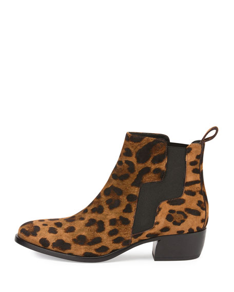 Gipsy Printed Suede Ankle Boot