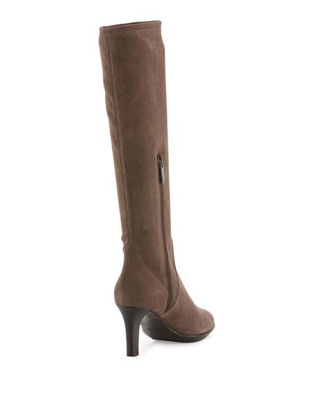 Diane Weatherproof Suede Knee Boot