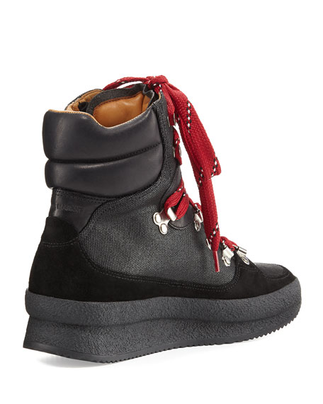 Brendty Lace-Up Leather Hiker Sneaker