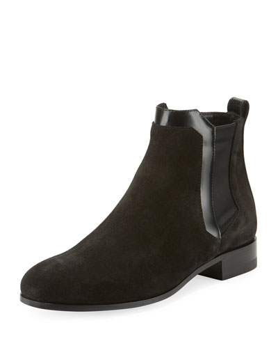 Miss Drugstore Suede Ankle Boot