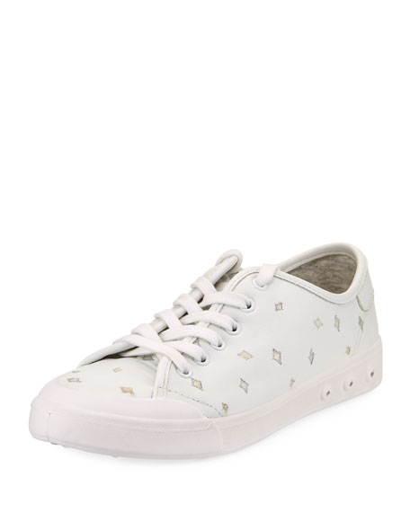 Standard Issue Embroidered Sneakers, White