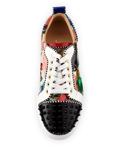 Flat Louis Junior Red Sole Sneaker, Multi
