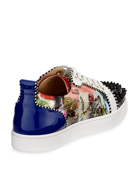 Flat Louis Junior Red Sole Sneaker, Multi