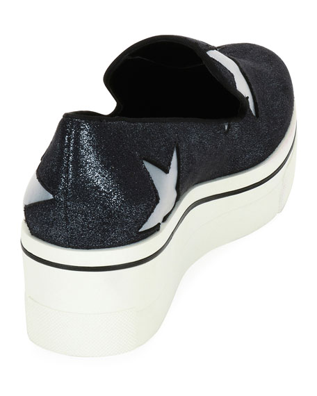 Binx Stars Glittered Loafer, Blue